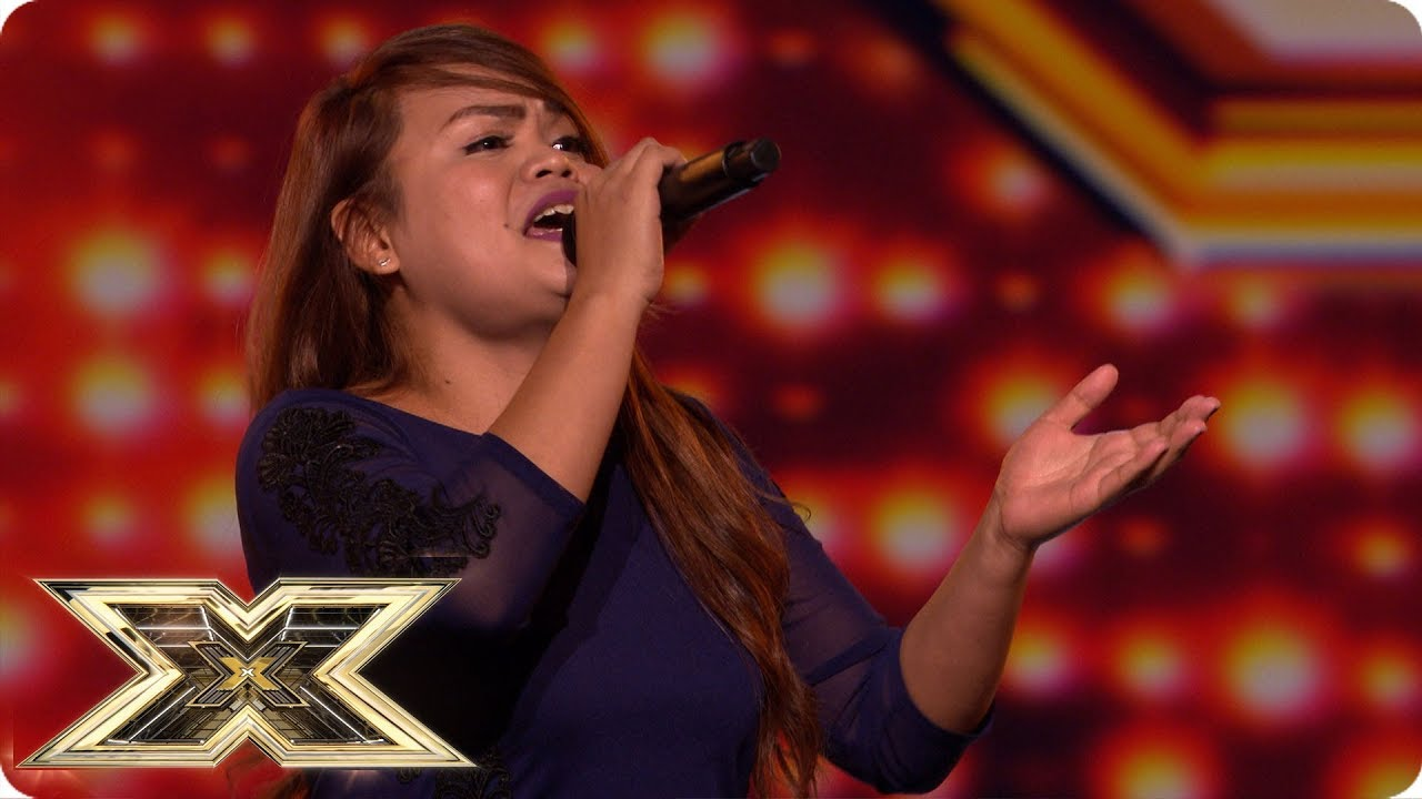 X Factor hopeful shocks as by performing male & female parts in duet