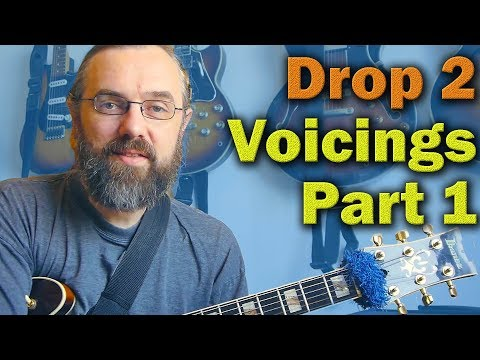 Jazz Chord Essentials - Drop 2 voicings part 1
