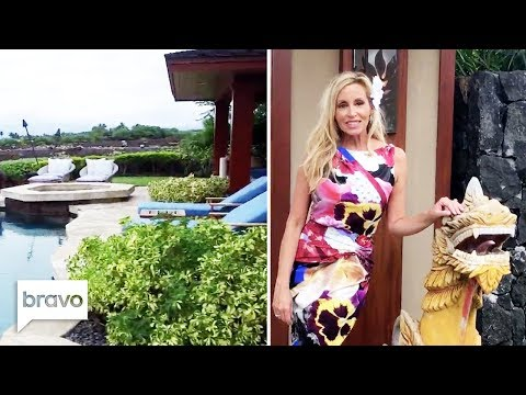 Camille Grammer Gives A Look Inside Her Home In Hawaii   RHOBH   Bravo