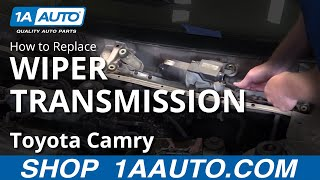 How to Replace Install Wiper Transmission 98 Toyota Camry