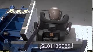 Peg-Perego Viaggio 1-2 -3 Via | RAСE 2018 | краш-тест боковой
