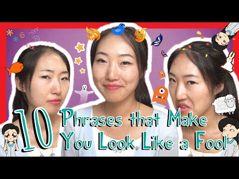 Learn the Top 10 Chinese Phrases that Make You Look Like a Fool