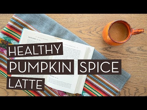 DIY Healthy Pumpkin Spice Latte Recipe For Fall}