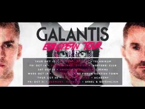Galantis | European Tour 2016 Announcement