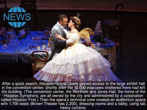 Forced Out By Flooding, Houston's Opera Gets On With the Show