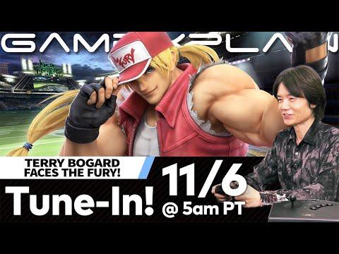 Sakurai Demonstrating Terry Bogard in Smash Bros. Ultimate on November 6th in 45 Minute Breakdown!