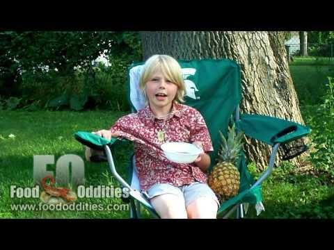 Remy Eats Poi (Food Oddities - www.foododdities.com)