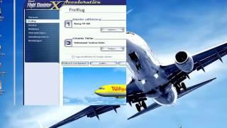 FSX Tutorial: GPS Navigation (German)