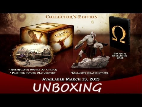 God Of War Ascension Limited Edition Unboxing [MUR]