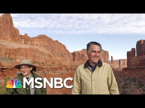 Mitt Romney Demonstrates His Passion For Utah 'Sport' | All In | MSNBC