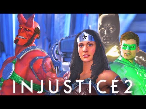 Thumbnail: INJUSTICE 2 - Hellboy vs The Justice League All intro dialogues!