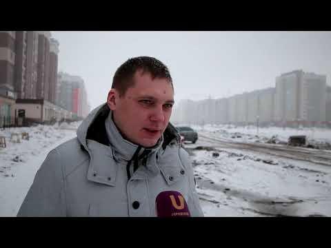 Новости UTV. В Стерлитамаке жители одной из улиц уже долгое время ждут строительства дороги