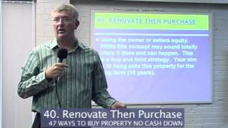 The Property King-Sean Summerville Renovate then Purchase Part 40