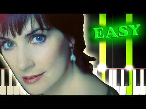 ENYA - MAY IT BE - Easy Piano Tutorial