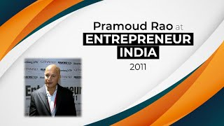Pramoud Rao at Entrepreneur India 2011