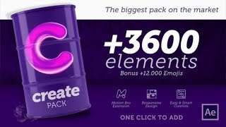 Create Pack  videohive