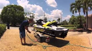 Post-Ride Personal Watercraft Maintenance