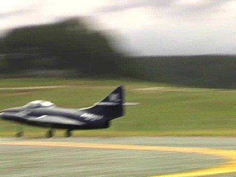 ANZAC model jet meeting in Tokoroa 2008 - YouTube