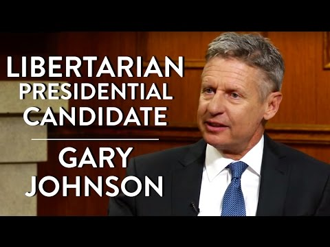 Libertarian Presidential Candidate Gary Johnson (Full Interv