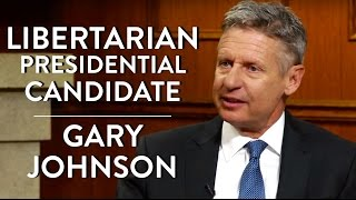 Libertarian Presidential Candidate Gary Johnson (Full Interview)