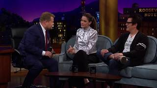 Amanda Peet on The Late Late Show with James Corden