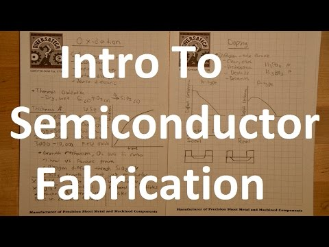 Semiconductor Fabrication Basics - Thin Film Processes, Doping, Photolithography, etc.