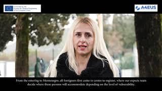 """...with Ms. Irena Rakocevic - """"Bozaj Centre, Tuzi"""""""