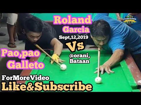 FULL VIDEO ROLAND GARCIA VS PAOPAO GALLETO 44k R20 EXHIBITION MATCH @ORANI,BATAAN SEPT,12,2019