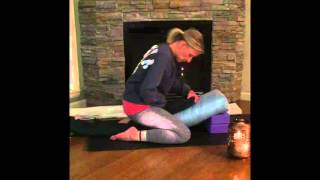 Supported Child's Yoga Pose Modifications: Pelvic Floor Awareness Meditation