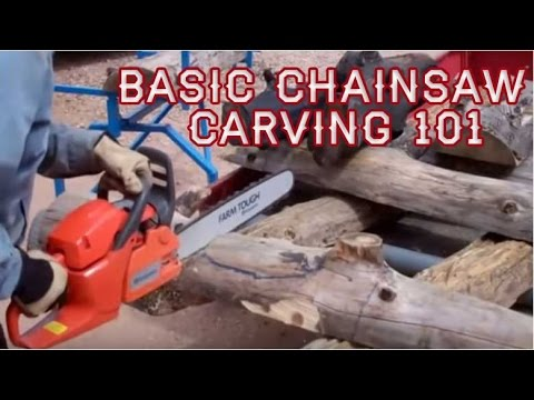 Chainsaw carving woodworking with teeth news