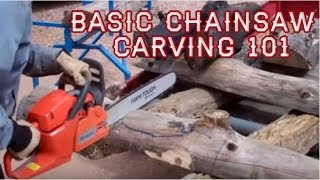 Basic Chainsaw Carving, Live! With Mitchell Dillman