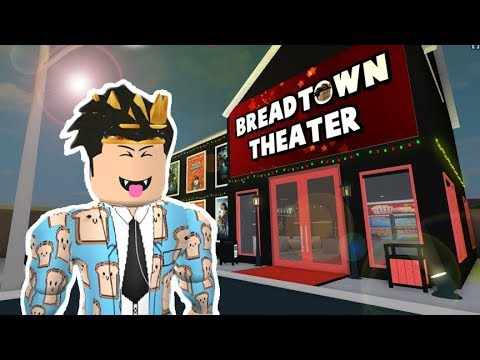 Working In My Bloxburg Movie Theater And More Roblox Roleplay Youtube