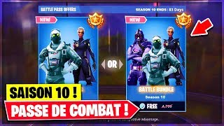 VOICI ALL NEW OF COMBAT SAISON 10 ON FORTNITE!