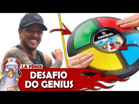 DESAFIO DO JOGO GENIUS ft LUCAS LIRA | DRINK GAMES