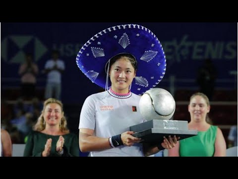 WTA Acapulco: Yafan Wang overpowers Sofia Kenin to win maiden WTA crown