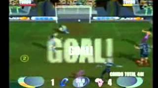 Sega Soccer Slam (GameCube) Gameplay 1