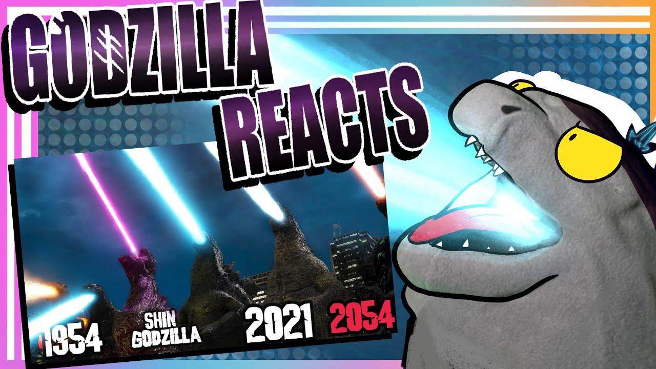 Godzilla Reacts| Evolution of GODZILLA'S ATOMIC BREATH [1954-2021-2054]