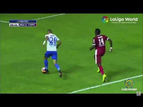 El gol de En-nesyri vs Nigeria All Stars (Trofeo La Carranza)