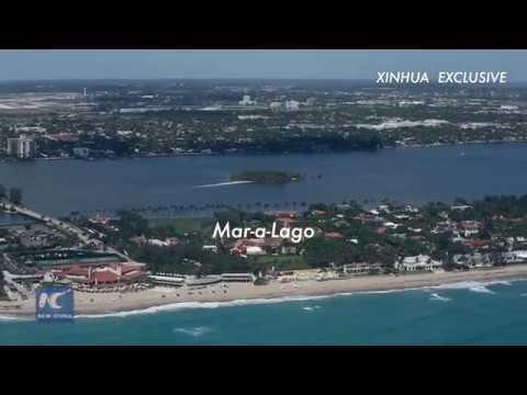 Exclusive: bird's-eye view of President Trump's Mar-a-Lago