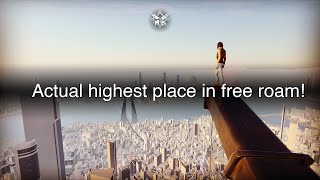 Mirror's Edge Catalyst - The ACTUAL highest place in free roam!