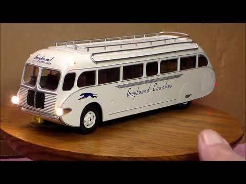 Custom-Lit 37 Greyhound Super Coach