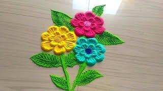 rangoli powder with sand
