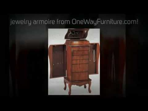 Merveilleux Jewelry Armoires From One Way Furniture