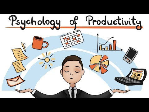 The Psychology of Productivity - Do More in Less Time
