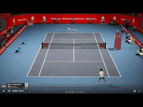Novak Djokovic vs Go Soeda - Tokyo 2019 AO Tennis PS4