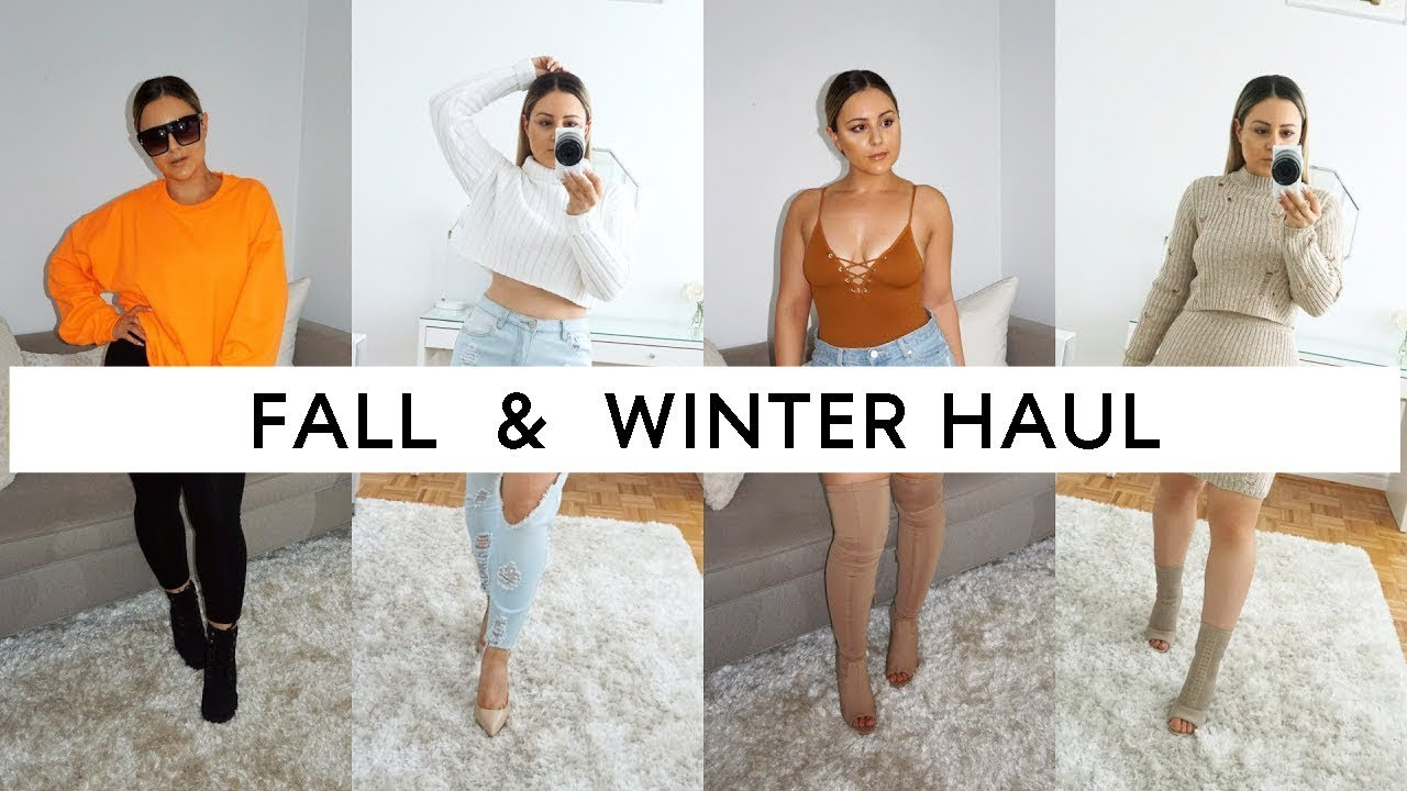 ec61f58df1ab HUGE FALL & WINTER TRY ON HAUL - BOOHOO, FOREVER 21, PRETTY LITTLE THING, &  MORE!