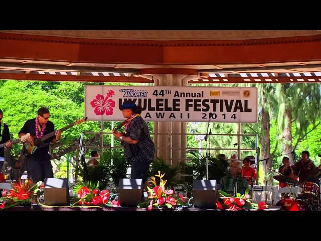 Ukulele Festival Hawaii 2014 -- Willie K