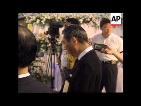 TAIWAN: PEOPLE PAY LAST RESPECTS TO SINGER TERESA TENG