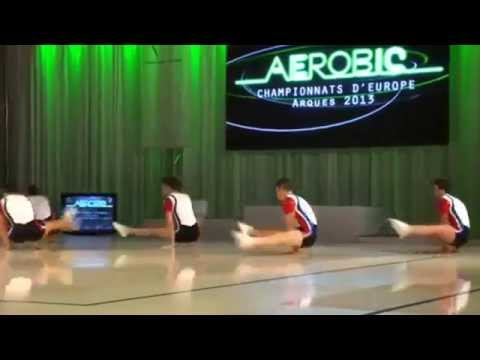 Group FRANCE (FRA) - European Aerobic Championships Arques 2013