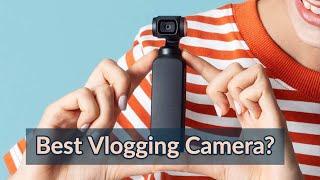 Is DJI Osmo Pocket The Best Vlogging Camera? | CES 2019